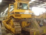 Used Caterpillar D7h Crawler Track Construction Bulldozer
