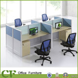 MFC Wooden Furniture Office Partition Tables with Aminum Frame