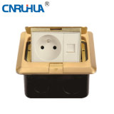 Copper Alloy Square Wall Switch Socket