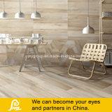 Wooden Khaki Porcelain Floor Tiles with Random Faces
