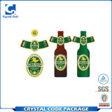 Strong Adhesive Waterproof Beer Label Sticker for Bottle