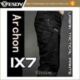 Black IX7 Military Outdoor City Tactical Trousers Men Cargo Pants