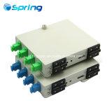 FTTH 4 Core Sc Port Wall Mounted Fiber Optical Metal Distribution Terminal Box