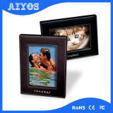 2017 New Leather Cover Frame 7 Inch Digital Photo Frame Player
