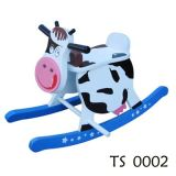 Wooden Toys - Rocking Horse, Cow Rocking Horse