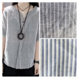 Cotton Linen Shirt Yarn Dyed Fabric