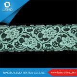 Rayon Nylon Spandex Stretch Tricot Lace Trim