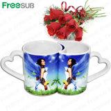 Factory Wholesale11oz Printable Cup Couple Ceramic Mug