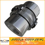 Suoda Gear Coupling Large Size Drum Gear Coupling Large Transmission Torque Professional Coupling Manufacturer Gazb Type