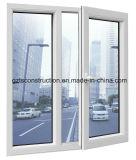 Customized UPVC/PVC Plastic Window/Sliding/Casement/Fixed Window with Mosquito Net (TS-051)