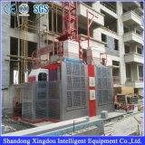 Sc200/200 2t Load Double Cage Construction Hoist/Lift