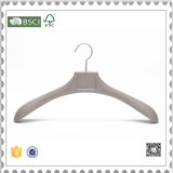 Luxury Plastic Hangers, Gray Plastic Coat Hangers for Clothes Shop Display