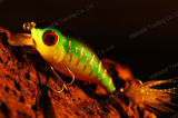 High Grade Fishing Lure--Plastic Wobbler Crank Bait (HMAH50)