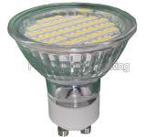 LED Lamp GU10/MR16/E27/E14 TUV/CE/RoHS (60SMD 3528 with glass cover)