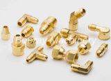 Brass Compression Tube Fitting Union Tee