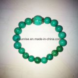 Semi Precious Stone Fashion Turquoise Beaded Bracelet
