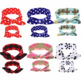 Mommy and Me Top Knots Headwrap Set Topknot Headband Mom and Me Headbands Mom and Daughter Turban Set