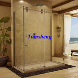 Bathtub Shower Attachment/Sliding Glass Frameless Shower Doors