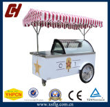 Gelato Ice Cream Push Cart /Popsicle Display Bike /Tricycle Showcase for Sale (CE approved)