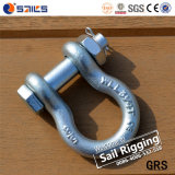 Forged Galvanized Lifting Safety Shackle G2130