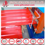 Prepainted Corrugated Steel Roofing Sheet Color Coated Roof Panel