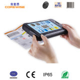 Rugged Tablet PC with Biometric Fingerprint Reader RFID Reader Barcode Scanner