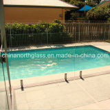 Clear Tempered Glass Pool Fencing