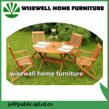 5-Pieces Solid Wood Garden Furniture