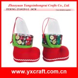 Christmas Decoration (ZY14Y29-1-2) Christmas Plastic Boot Bulk Socks