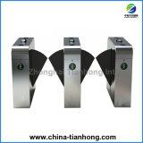 Biometric Secured Waist Half Height Flap Barrier Gate Turnstile Th-Fgb205