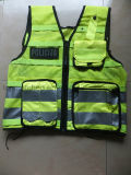 High Quality En471 Traffic Police Reflective Security Vest