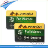 Smart Card with Black Code and Magnetic Stripe