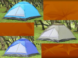 100% Polyester Waterproof Camping Tent for 4 Persons (JX-CT018)