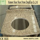 Tiger Skin Yellow Granite Bathroom Vanity Top