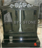 Granite Book Upright Memorial / Headstone with European Design