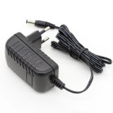12V1.5A 18W VDE Universal AC DC Adapter for Switching Power Supply Black