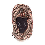Plated Antique Copper Electronic Cabinet Lock Card / Key Open for Swimming Park