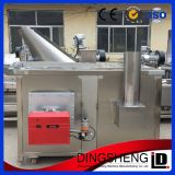Automatic Batch Snack Food Frying Machine in Stainless Steel