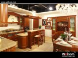 Solid Wood Kitchen Cabinet Wb-13 Oak Kitchen