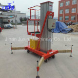 Electric One Man Lift Table with Wheels Telescopic Lift