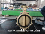 Lug Type Butterfly Valve with No Pin