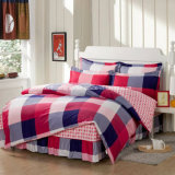 Textile 100% Cotton High Quality Bedding Set for Home/Hotel Comforter Duvet Cover Bedding Set (Colorful squares)