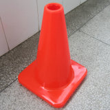 Small Solid Ornge PVC Fluorescent Road Cones Safety Cones