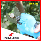 Koham Tools 100kg Cutting Force Secateurs Horticulture Usage Scissors Electrical Loppers Power Bypass Electricity Pruners Li-ion Battery Powered Pruning Shears
