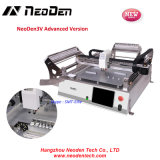 Small SMT Pick and Place Machine, Neoden3V 2 Heads with Vision, 44 Feeders for LED Production