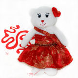 Costume Plush Toy for Valentine Bears