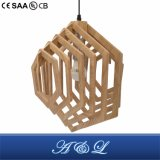 Wooden Artistic Pendant Lamp for Living Room