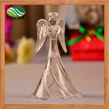 Angel Shaped Glass Craft for Home Decoration Gift