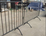 Powder Coated Steel Traffic Barrier/Crowd Control Barrier Fence
