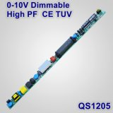 0-10V Dimmable Hpf Constant Current Lamp LED Driver with Ce TUV QS1205